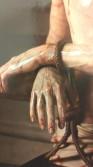 Christ's hands