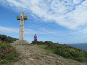 Cross on Cliff