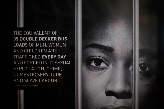 Stop The Traffik UN Gift Box in London
