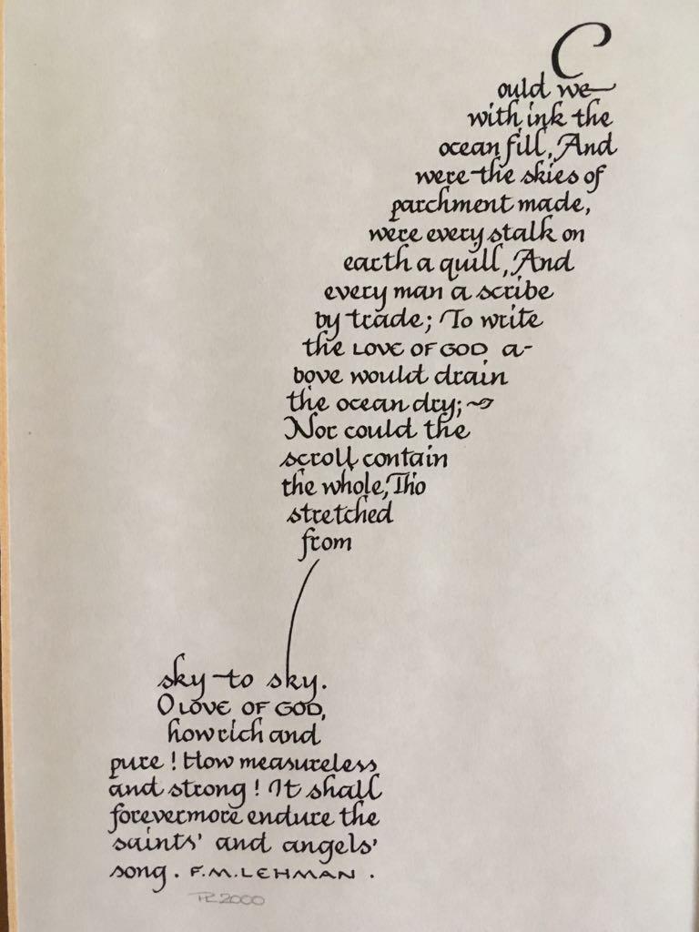 Oceans of ink